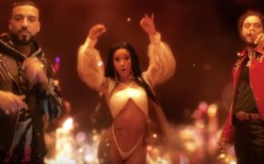"Junto de clipe, French Montana divulga novo single ""Writing on the Wall"" com Post Malone e Cardi B"