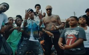 "Lil Baby e Future divulgam o videoclipe da música ""Out The Mud"""