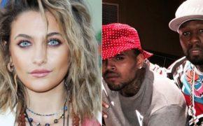 Filha do Michael Jackson responde 50 Cent após rapper dizer que Chris Brown é melhor do que o cantor