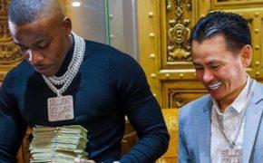 DaBaby compra novas correntes e pulseira de diamantes com Johnny Dang