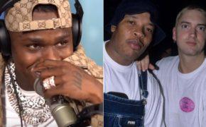 """DaBaby faz freestyle no beat da clássica """"Guilty Conscience"""" do Eminem com Dr. Dre"""