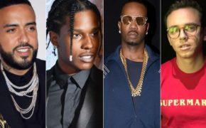 "French Montana se une com A$AP Rocky, Juicy J e Logic e novo single ""Twisted"""