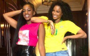 IZA desembarca em Los Angeles para gravar videoclipe de parceria musical com Ciara e Major Lazer