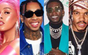 "Doja Cat divulga novo álbum ""Hot Pink"" com Tyga, Gucci Mane e Smino"