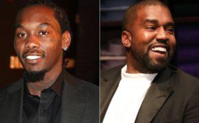"""Offset sobre Kanye West: """"pare de brincar com esse homem, ele é uma lenda"""""""