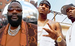"Rick Ross compartilha vídeo ouvindo clássica ""Hate It Or Love It"" do The Game e 50 Cent"