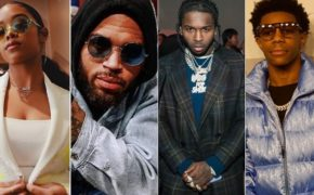 "H.E.R traz Chris Brown, Pop Smoke e A Boogie Wit Da Hoodie para remix do single ""Slide"""