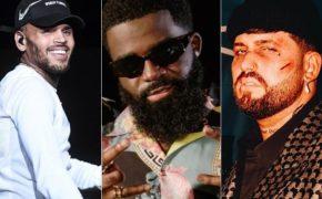 """Chris Brown e Afro B entram em remix do single """"Safety"""" do GASHI com DJ Snake"""