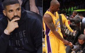 """Drake comenta morte do Kobe Bryant: """"não pode ser"""""""