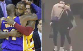 Reação do LeBron James após descobrir sobre morte do Kobe Bryant é de cortar o coração; veja o vídeo