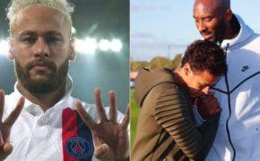 Neymar homenageia Kobe Bryant após marcar gol pelo PSG
