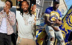 """NBA YoungBoy e Offset samplearam clássica """"Get In My Car"""" do 50 Cent em nova parceria musical; confira trecho"""