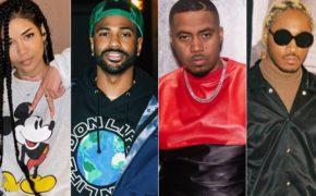 """Jhené Aiko revela tracklist do seu novo álbum """"Chilombo"""" com seu pai, Big Sean, Nas, Future e mais"""