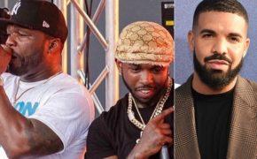 50 Cent quer Drake no álbum de estreia do Pop Smoke; Roddy Ricch já confirmou participação