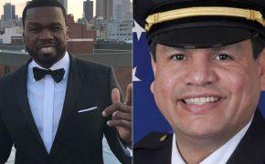 50 Cent debocha de policial que ordenou que sua equipe atirasse nele