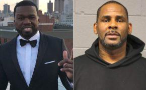 """50 Cent debocha do R. Kelly com meme: """"positivo para ELANÃOTINHA-19"""""""
