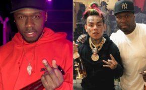 Filho do 50 Cent provoca o rapper após a libertação do 6ix9ine da prisão