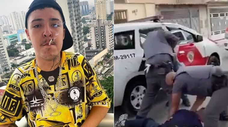 Salvador é preso e agredido brutalmente pela polícia em São Paulo | Rap 24  Horas